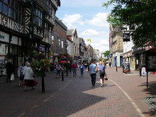 Stafford, Town Centre, Staffordshire © Val Vannet