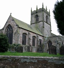 Gnosall, St. Lawrence, Staffordshire © Stephen Betteridge