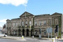 Stoke-on-trent, Longton Town Hall, Staffordshire © www fotodiscs4u co uk.